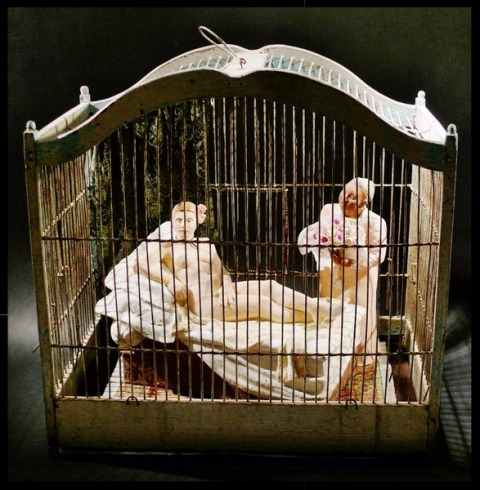 Paris Art Web - Sculpture - Lindsey De Ovies - Caged Series - Spoken For