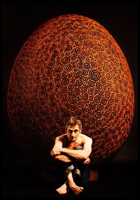 Paris Art Web - Sculpture - Vincent Magni - The Egg