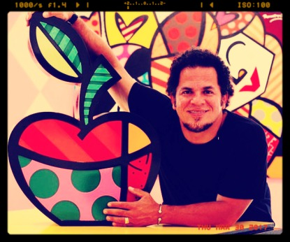 Romero Britto on Paris Art Web | Online Art Gallery | Paintings ...