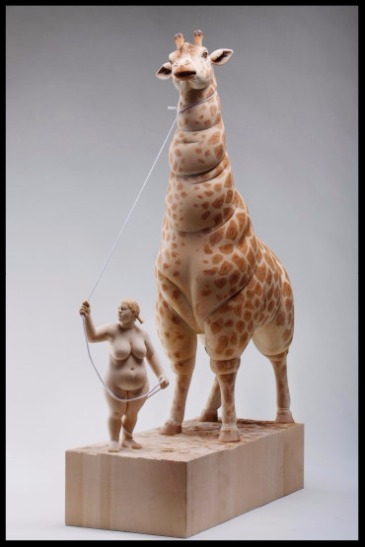 Paris Art Web - Sculpture - Matthias Verginer - My Favorite Pet