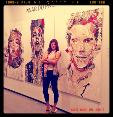 Paris Art Web - Painting - Pinar Du Pre - The Artist
