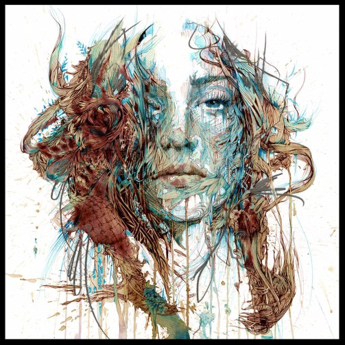 Paris Art Web - Painting - Carne Griffiths - The Mystery