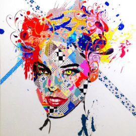 Paris Art Web - Painting - Pinar Du Pre - Snapshots - Clara