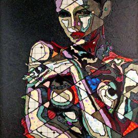 Paris Art Web - Painting - Pinar Du Pre - Snapshots - Geraldine