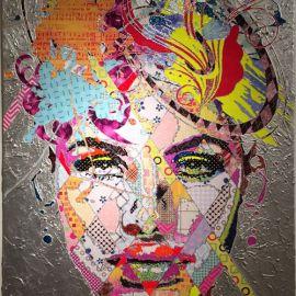 Paris Art Web - Painting - Pinar Du Pre - Snapshots - Hazel