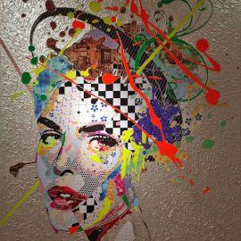 Paris Art Web - Painting - Pinar Du Pre - Snapshots - Hillary Creme