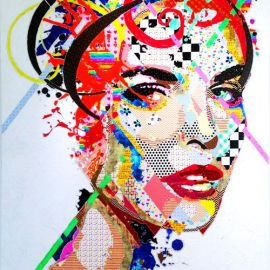 Paris Art Web - Painting - Pinar Du Pre - Snapshots - Hillary