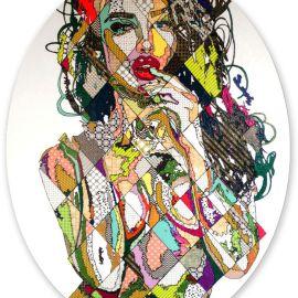 Paris Art Web - Painting - Pinar Du Pre - Snapshots - Irina