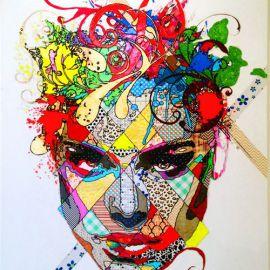 Paris Art Web - Painting - Pinar Du Pre - Snapshots - Keira