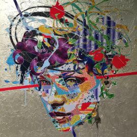 Paris Art Web - Painting - Pinar Du Pre - Snapshots - Linda White II