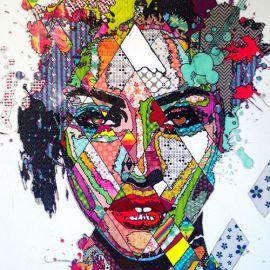 Paris Art Web - Painting - Pinar Du Pre - Snapshots - Lorna