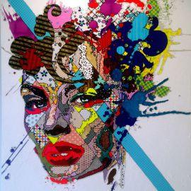 Paris Art Web - Painting - Pinar Du Pre - Snapshots - Marcella