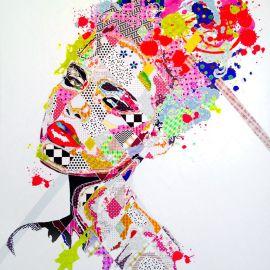 Paris Art Web - Painting - Pinar Du Pre - Snapshots - Nikki