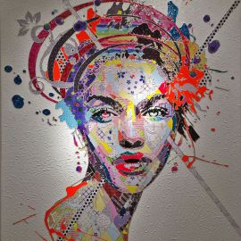 Paris Art Web - Painting - Pinar Du Pre - Snapshots - Phoebe