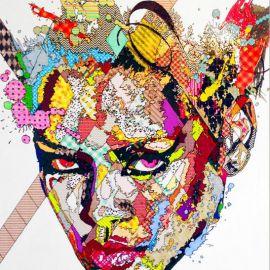 Paris Art Web - Painting - Pinar Du Pre - Snapshots - Rihanna
