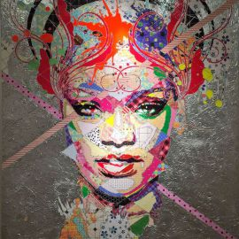 Paris Art Web - Painting - Pinar Du Pre - Snapshots - Riri