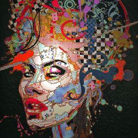 Paris Art Web - Painting - Pinar Du Pre - Snapshots - Vega